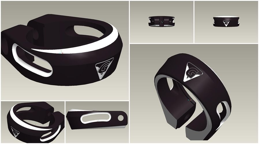 New Design Seat Clamp 3D